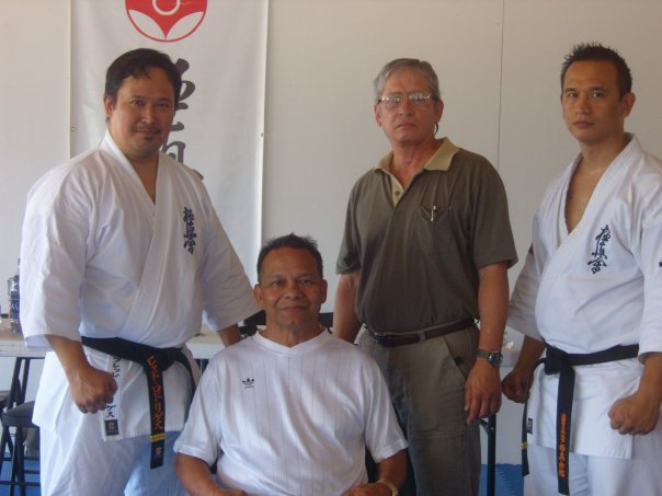 Founding Father of Guam Kyokushin Karate, Shihan Joe Tedtaotao